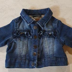 Size 00 Higgledee baby denim jacket